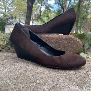 Cole Haan Calf Hair Lainey Wedges